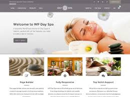 Estheticians Website Design Example