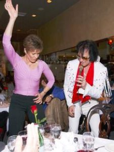 Elvis dance Shelley Hancock