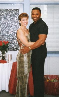 Shelley and Hubby, Engagement Party, 2002. Sooo Young!!