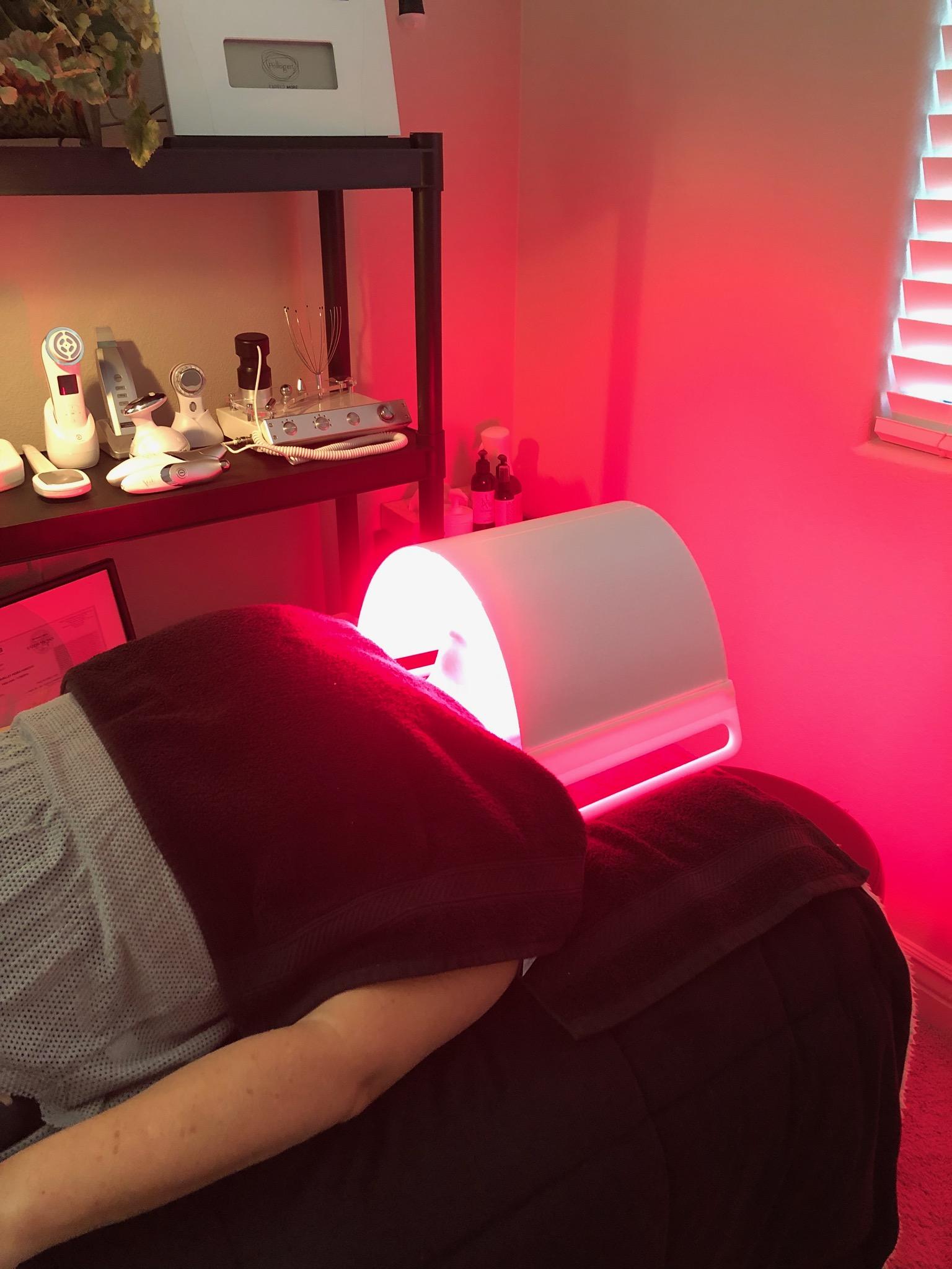 Illuminate Full Face Led Light Therapy Panel Hancock